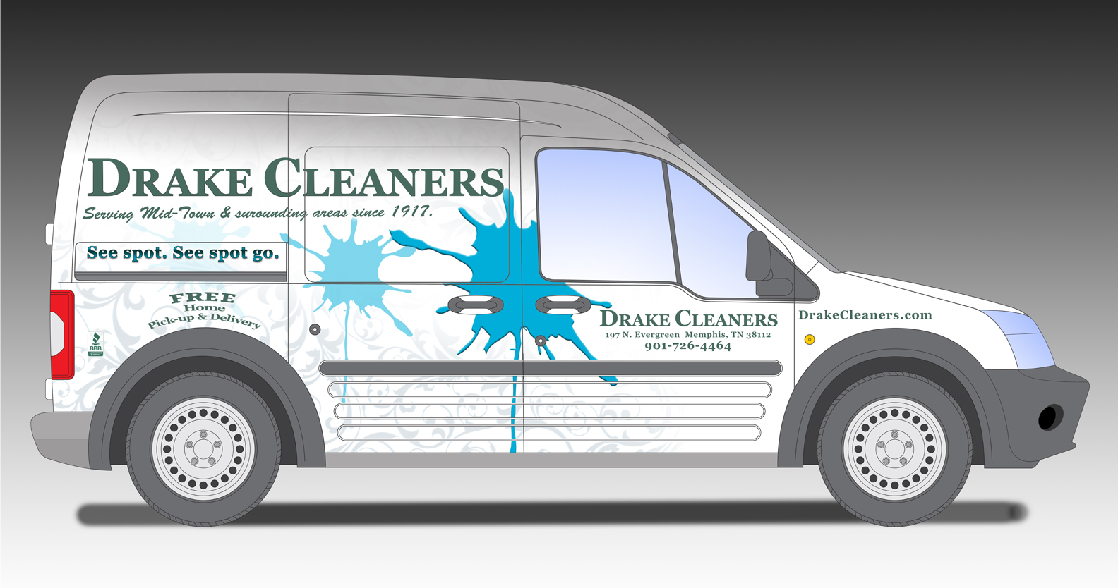 We pickup and deliver twice a week to your home or business.